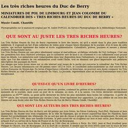 Trés Riches Heures du Duc de Berry