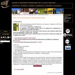 TLFi : Trésor de la Langue Française informatisé