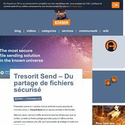 Tresorit Send – Du partage de fichiers sécurisé