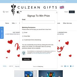 The Trevor Hirst - Online Collection of Paint on Glass – Culzean Gifts