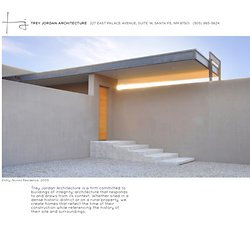 trey jordan architecture : santa fe, new mexico