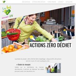 Actions Zéro Déchet- CdVar