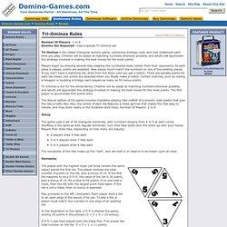Tri-Ominos Rules - Domino-Games.com