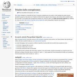 Triades indo-européennes