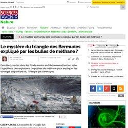 Le mystère du triangle des Bermudes expliqué par les bulles de méthane ?