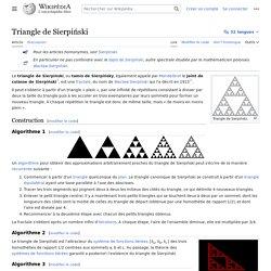Triangle de Sierpiński