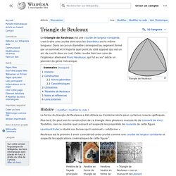 Triangle de Reuleaux