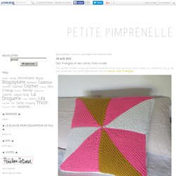 Des triangles et des carrés (tuto inside) - petite pimprenelle