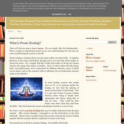 The Triangles: What is Pranic Healing?