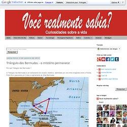 Triângulo das Bermudas - o mistério permanece