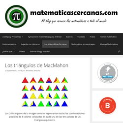 Los triángulos de MacMahon - matematicascercanas