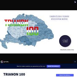 TRIANON 100 by eraszoke73 on Genially