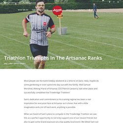 Triathlon Triumphs In The Artsanac Ranks