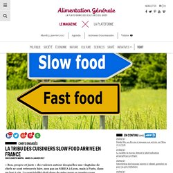 La tribu des cuisiniers Slow Food arrive en France
