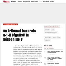 Un tribunal bavarois a-t-il légalisé la pédophilie ?