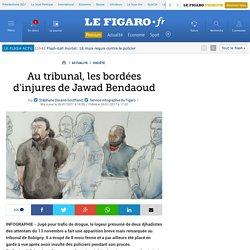 Trafic de drogue: Au tribunal, les bordées d'injures de l'accusé Jawad Bendaoud (le logeur de djihadistes)