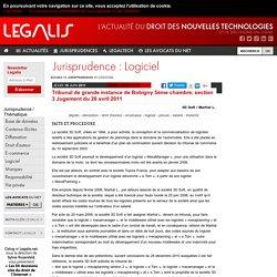 Tribunal de grande instance de Bobigny 5ème chambre, section 3 Jugement du 26 avril 2011