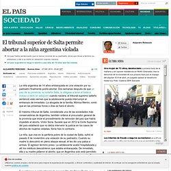 El tribunal superior de Salta permite abortar a la niña argentina violada