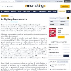 Le Big Bang du m-commerce