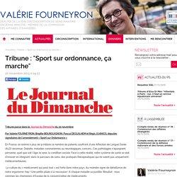 Tribune : «Sport sur ordonnance, ça marche»