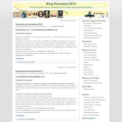 Blog Rousseau 2012, Arald