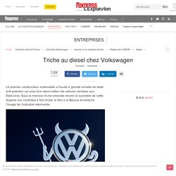 Triche au diesel chez Volkswagen