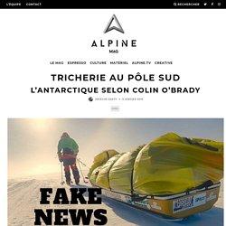 Tricherie au pôle sud