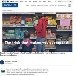 The trick that makes you overspend - BBC Worklife