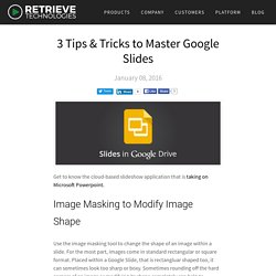 3 Tips & Tricks to Master Google Slides