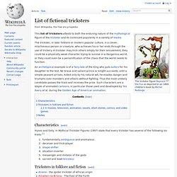 Lista de los embaucadores de ficción - Wikipedia, la enciclopedia libre