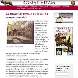 Triclinium Romain