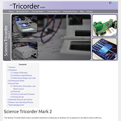 the Tricorder project - Science Tricorder Mark 2
