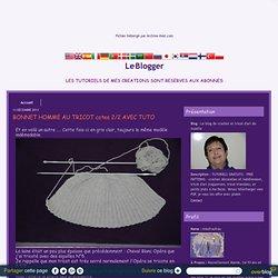 TRICOT bonnets - Le blog de crochet et tricot d'art de Suzelle