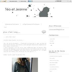 Tricot - plus c'est long... - Conjugation... - Un peu de tricot... - Black & Grey - Et sinon, t'avais… - t'y es folle ma… - oh yeah ! - ça sent l'automne,… - Fonds de tiroir... - TRICOT ! - Pull à n'étoile, ou… - tout est dans le… - Téo et Jeanne