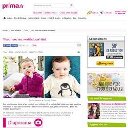 modèles bébé PRIMA