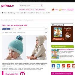 Tricot : tous nos modèles pour bébé