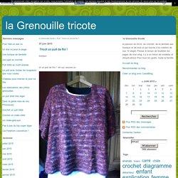 Tricot un pull de fini ! - la Grenouille tricote
