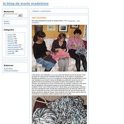 mes Tricot-thés - le blog de marie madeleine