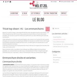 Tricot top-down : #1 - Les emmanchures