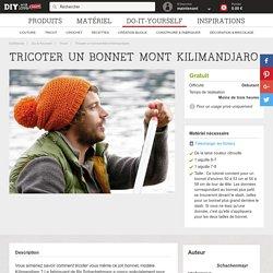 Tricoter un bonnet Mont Kilimandjaro