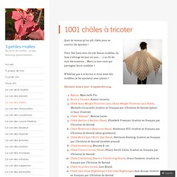 1001 châles à tricoter
