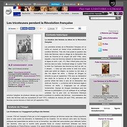 Les tricoteuses pendant la Révolution française