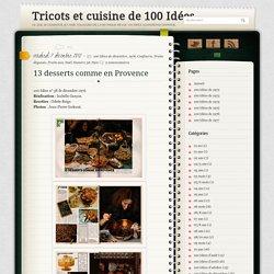 13 desserts comme en Provence