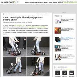 ILY-A, un tricycle électrique japonais quatre-en-un
