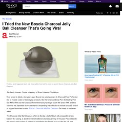 I Tried the New Boscia Charcoal Jelly Ball Cleanser That's Going Viral