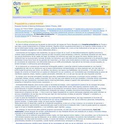 DSM Trieste: Psyquiatria y salud mental