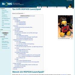 Tux trifft MSP430-Launchpad – BraLUG-Wiki