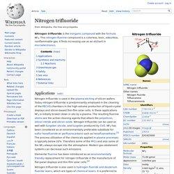 Nitrogen trifluoride