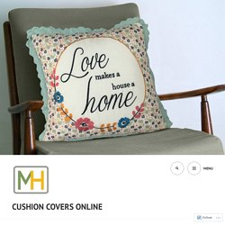 Trigger a Fashionable Revolution in Your Home Space with Cushion Cover