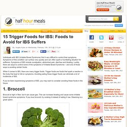 15 Trigger Foods for IBS: Foods to Avoid for IBS Suffers